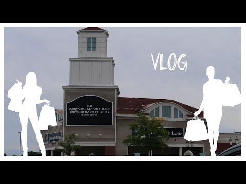 Wrentham Village Premium Outlets | Vlog
