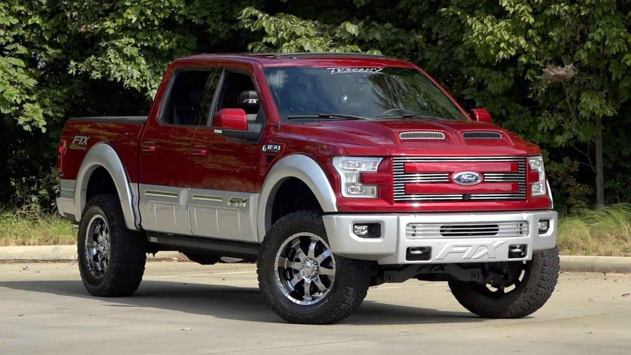 2015 Ford F150 Tuscany Ftx For Sale 136322 Youtube