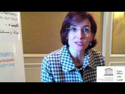 Dr Hoda El Mikaty - on International Year of Chemistry