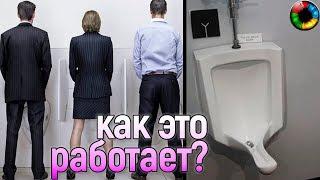 юмор прикол туалет Женские писсуары этапы большого пути...
