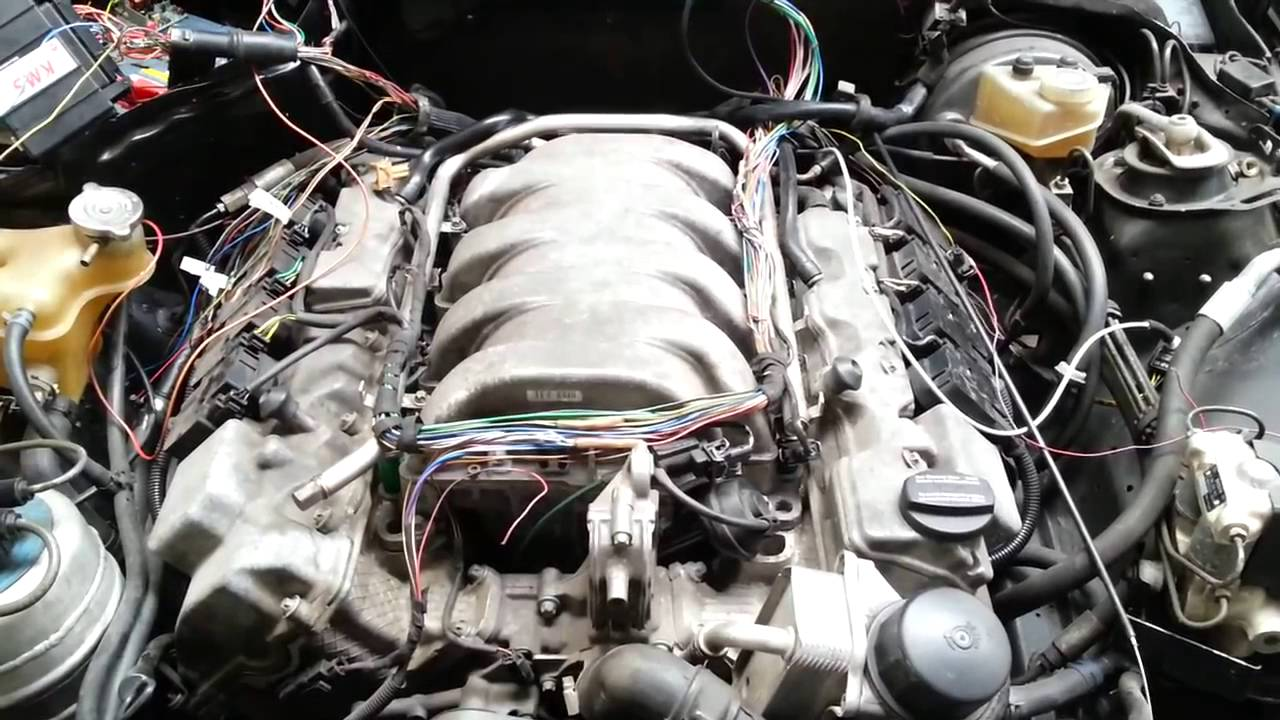 Mercedes 190 16V Swap to 5 0L AMG V8 Dutchbuild