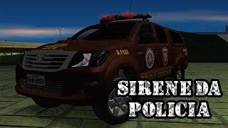 🔵NOVA SIRENE DA POLICIA PARA GTA SA