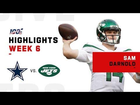 Sam Darnold Returns to Pilot Jets 1st Victory   NFL 2019 Highlights