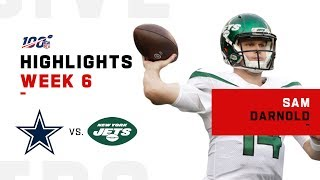 Sam Darnold Returns to Pilot Jets 1st Victory | NFL 2019 Highlights