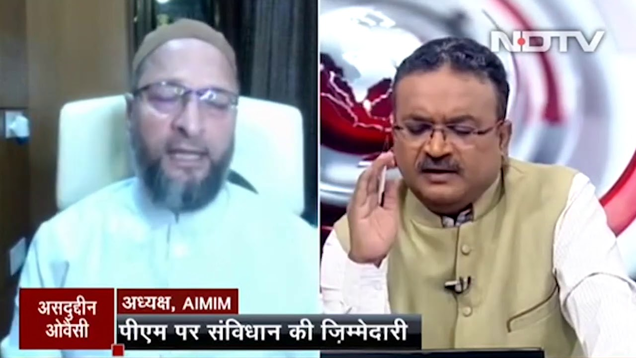 Asaduddin Owaisi spoke to NDTV on  PM's participation in the Bhumi Pujan