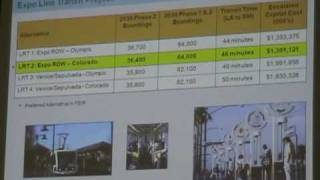 Metro Expo Line final planning meeting: Presentation (Part 2)