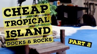 Baixar 🚣♂️Ultra Realistic Tropical Island 40k Gaming Table 🚣♂️ Docks And Rocks Part 2