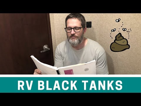 RV Black Tank Flush - Using the GEO Method - Easy RV Water Tank Maintenance