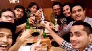 Boys Night Out { Dinner at Kashiwa Jakarta} Little Tokyo