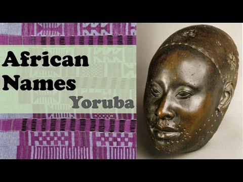 Yoruba Names, Nigeria Benin Togo / African Names / Talking Drums