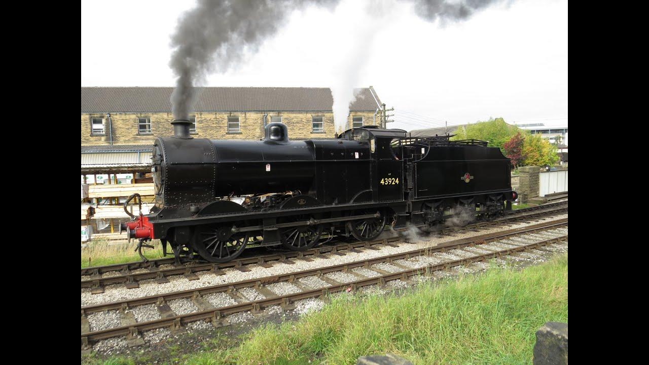 Midland Railway 4F 43924 at Keighley and Worth Valley Railway Gala 2015