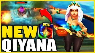 *3 ULTIMATES IN ONE* NEW QIYANA GAMEPLAY (QIYANA IS 100% BROKEN) - League of Legends
