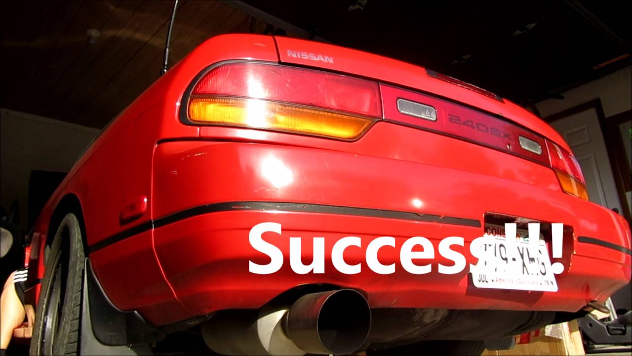 1990 Nissan 240sx Tail Light Wiring Diagram Electrical Diagrams Engine S13 Minor Wheel Well Repair Brake Fuse Blowing Youtube Sr20de