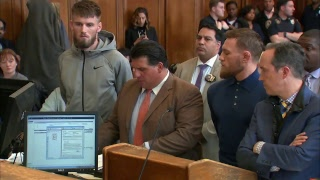 Conor McGregor appears in court after Barclays melee