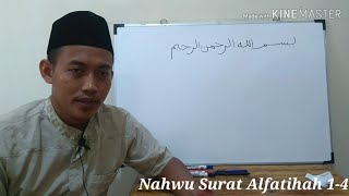 Bahasa Arab Alquran 23 - Nahwu Surat Alfatihah (1) screenshot 2