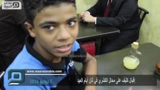 مصر العربية | إقبال كثيف على محال الكشري في ثان أيام العيد