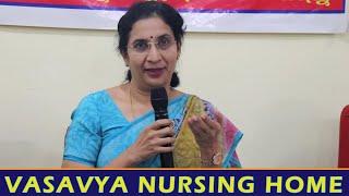 """1069 Weekly HEP on """"DEPRESSION IN WOMEN"""" by Dr.V.Radhika Reddy, Psychiatrist in Vasavya Nursing Home"""