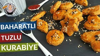 Baharatlı Tuzlu Kurabiye Tarifi | Ağızda dağılan LEZZET! | Hatice Mazı ile Yemek Tarifleri