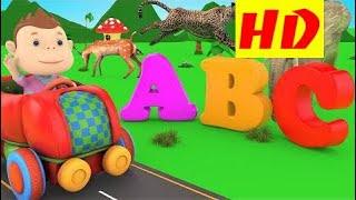 字母表动物视频的孩子  Abc儿童歌曲 - 动物的名字和声音