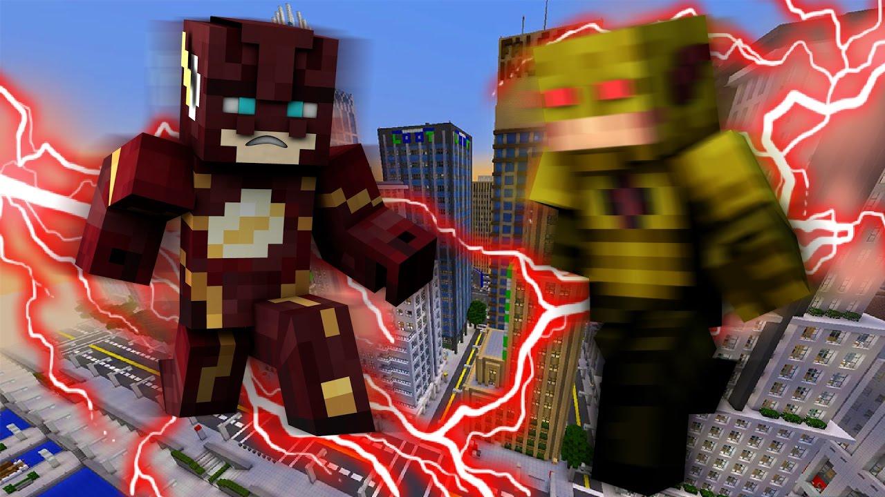Мод на майнкрафт 1.7 10 супергерои Fisk's Superheroes