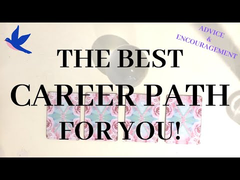 WHAT CAREER PATH SHOULD YOU TAKE? $$ Advice, Guidance, Motivation (PICK A CARD)Psychic Tarot Reading
