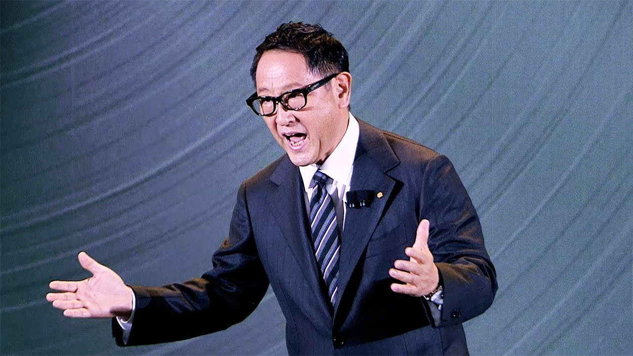 Toyota Headquarters Plano Texas >> Toyota Investor Summit: Video of Akio Toyoda's remarks - YouTube