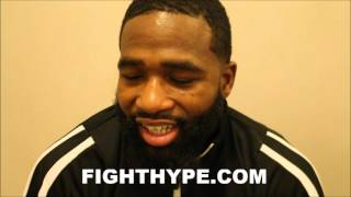 ADRIEN BRONER COMMENTS ON TERENCE CRAWFORD'S WIN OVER HANK LUNDY AND A FUTURE SHOWDOWN
