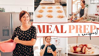 COOK WITH ME: Back-to-School Inspired Meal Prep