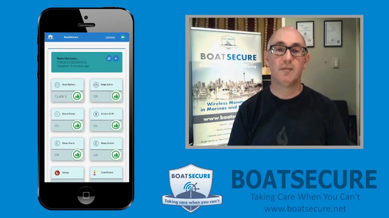 BoatSecure app is easy to use