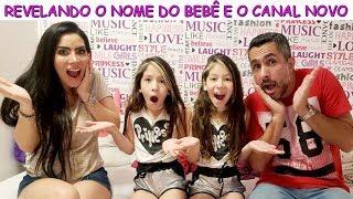 Gambar cover REVELANDO O NOME DO BEBÊ E O CANAL NOVO