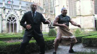 Fantastic Haka by Hone & Nagahi in Utrecht, Netherlands