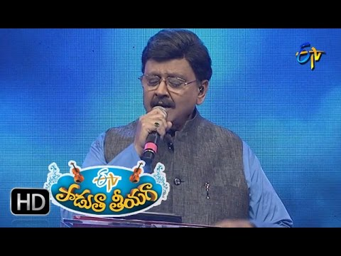 Merise Megha Maalika Song   SP Balu Performance in ETV Padutha Theeyaga   6th November 2016