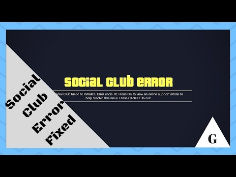 How to Fix GTA 5 Social Club Error Fixed 100% Working A Very Simple Way To Fix