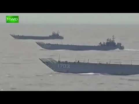 "Myanmar military joint exercises 2018 ""Sin Phyu Shin"". Part 2"