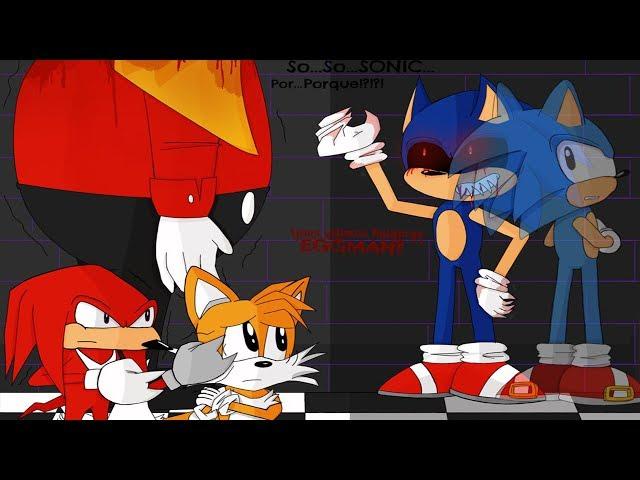 SALVANDO A TODOS!!!!!!(Pablo Juega Sonic.EXE)-(Final Bueno)ep2