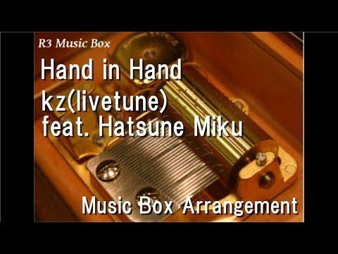 "Hand in Handkztune feat Hatsune Miku  Box ""Magical Mirai "" Theme Song"