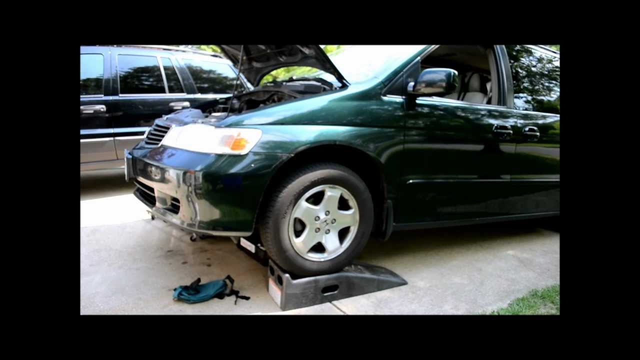 honda odyssey transmission fluid change youtube. Black Bedroom Furniture Sets. Home Design Ideas