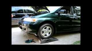 Honda Odyssey Transmission Fluid Change