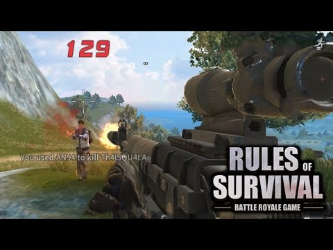FIRST PERSON FIRETEAM PRO STRATS IN RULES OF SURVIVAL!!