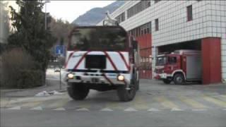 Film de promotion des sapeurs-pompiers en Valais