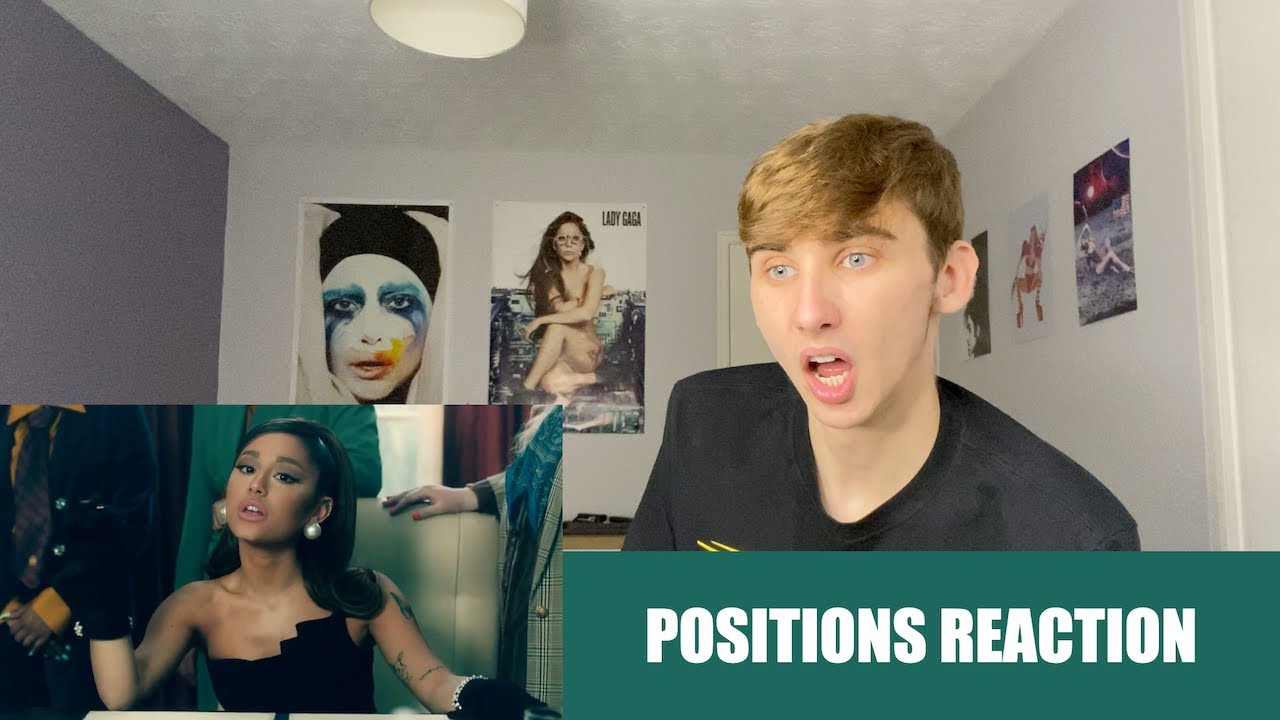 REACTING TO POSITIONS BY ARIANA GRANDE