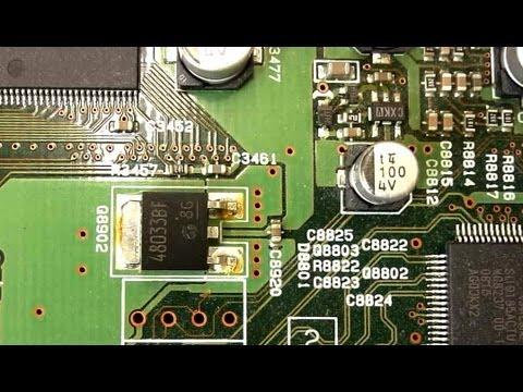Onkyo TX-SR806 Digital Noise AV Receiver Amp Repair Fix