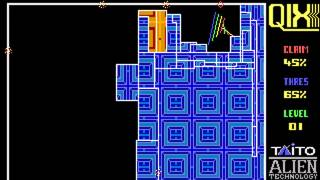 DOS Game: QIX