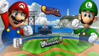 Mario Super Sluggers - Exhibition Mode - Mario Stadium