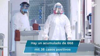 Entre los primeros 14 días de mayo y junio contagios subieron de 8 mil 127  a 9 mil 10