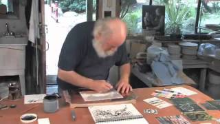 Pottery Video: Robin Hopper Shows How to Paint on Porcelain Ceramic Substrates