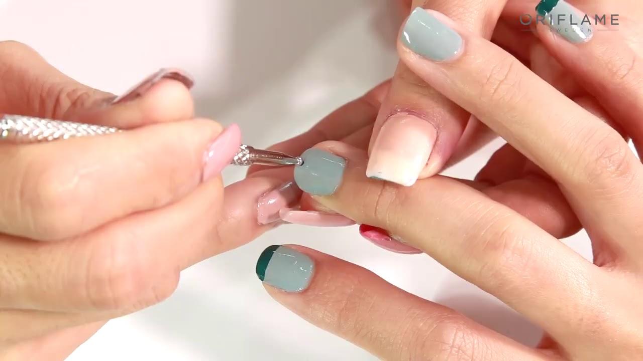 Cách phối màu sơn móng tay  oriflame The ONE Long Wear Nail Polish
