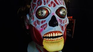 'They Live' Alien Trick or Treat Studios Mask   R.I.P. Reviews