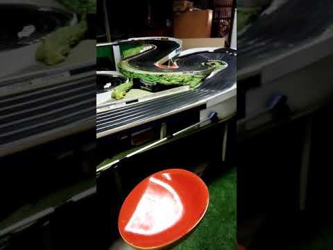 Slot car track Kerang Model Motorsport Challenger raceway Giant scalextric sport track in Australia.