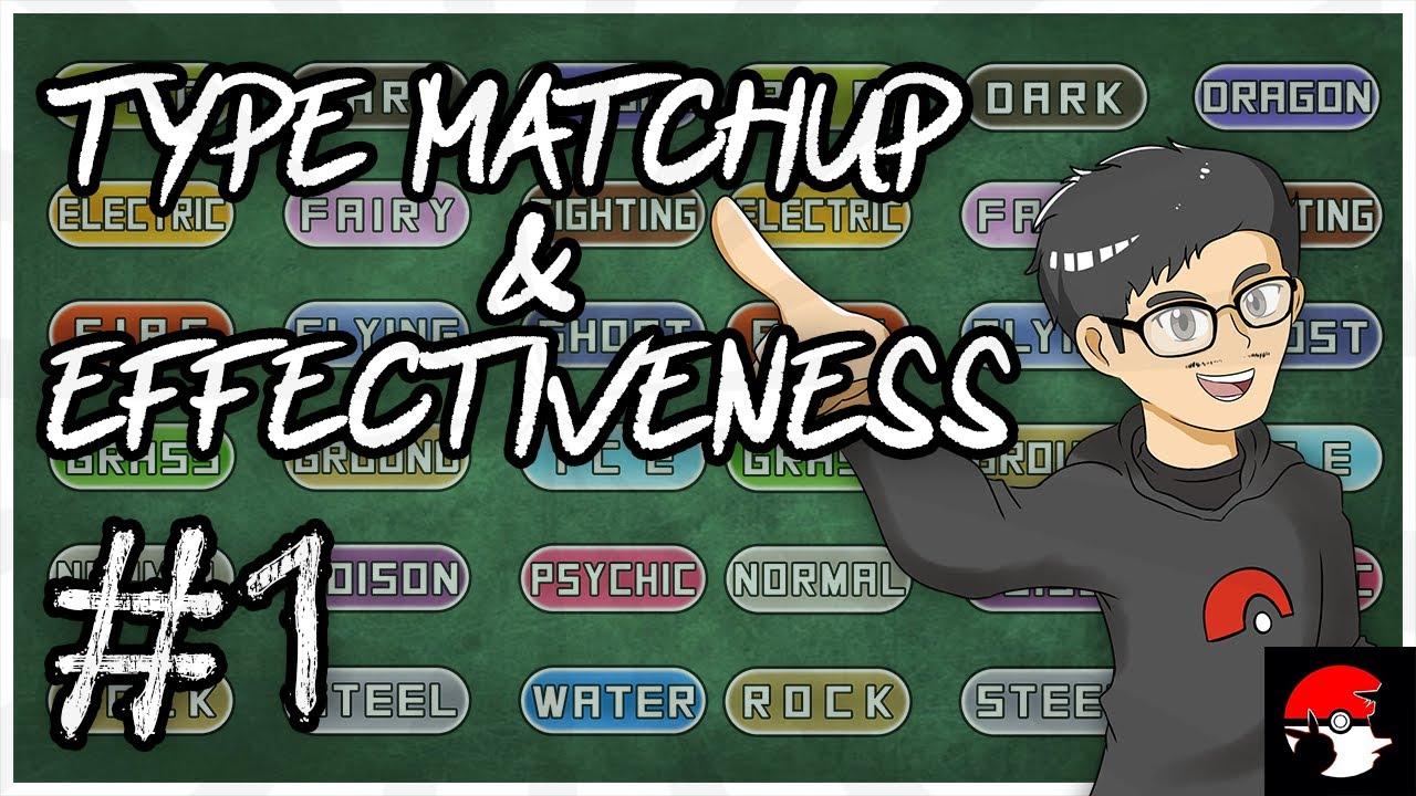 Type Matchup Effectiveness Pokemon Basic Explanation Episode